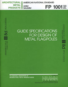 Guide Specifications For Design of Metal Flagpoles