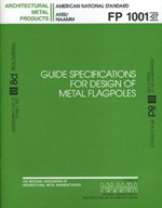 "image of ""Guide Specifications For Design of Metal Flagpoles"""