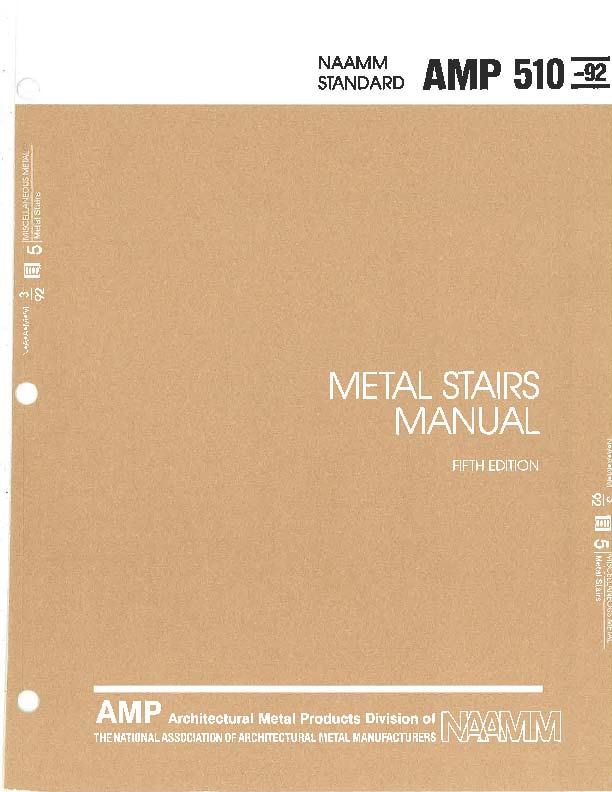 Metal Stairs Manual