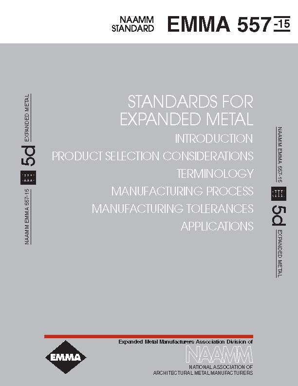 Standards For Expanded Metal