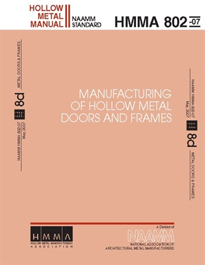 Manufacturing of Hollow Metal Doors and Frames