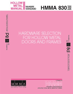 Hardware Selection for Hollow Metal Doors and Frames
