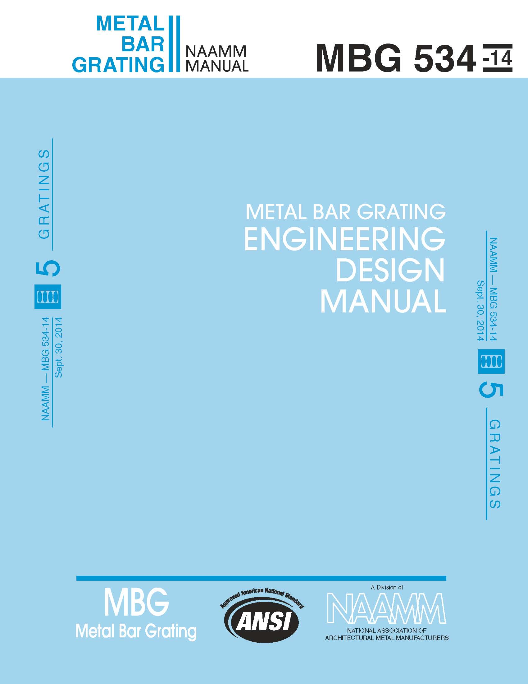 Metal Bar Grating Engineering Design Manual