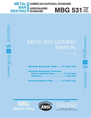 Metal Bar Grating Manual 531-17