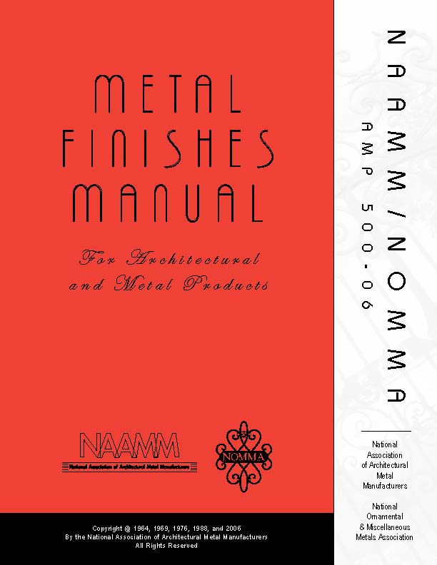 Metal Finishes Manual